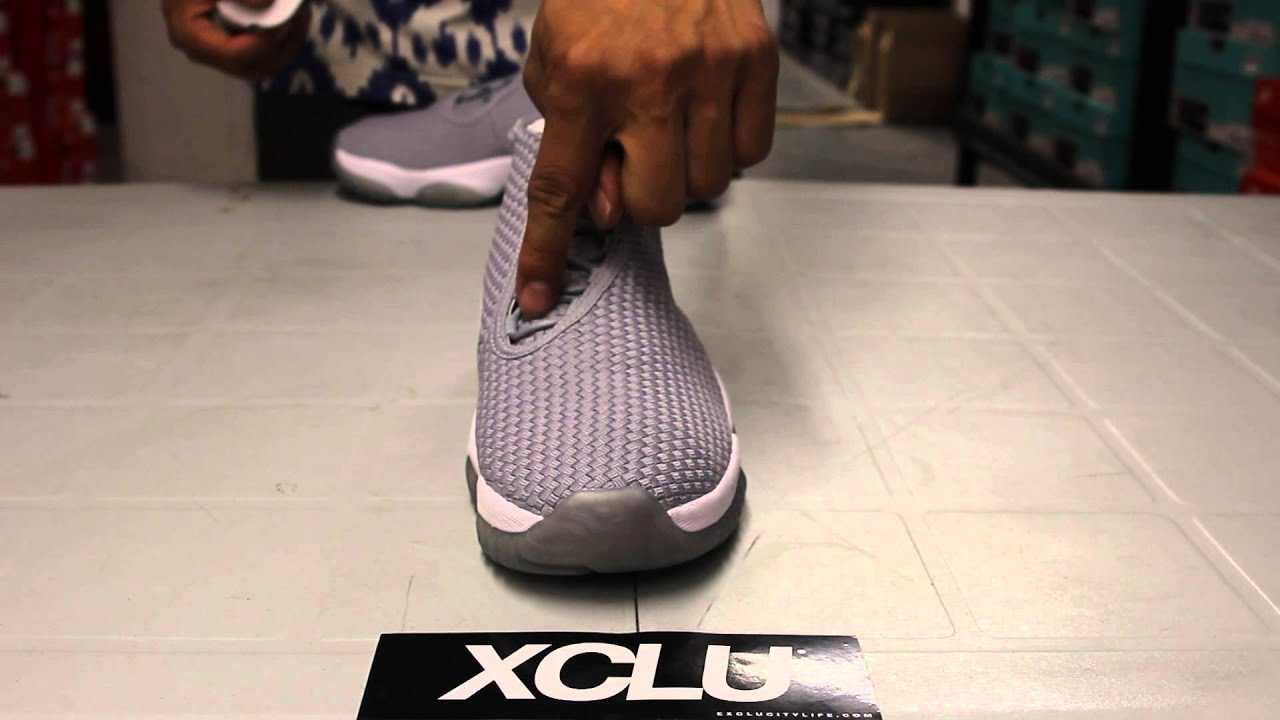 watch 99480 c3fab ... discount code for jordan future wolf grey unboxing video exclucity  youtube be0b0 a5d2d