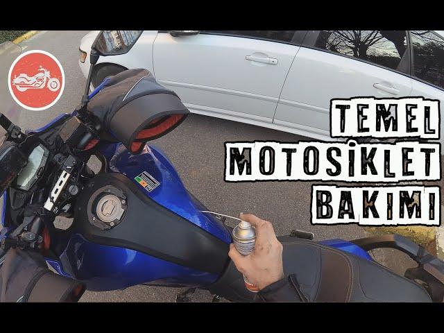 En Temel Motosiklet Bakımı (Yıkama, Yağlama, Korozyondan Koruma) (PART I)
