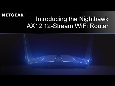 Netgear Launch 802 11ax Wi-Fi 6 Nighthawk AX8 & AX12 Routers with 5G