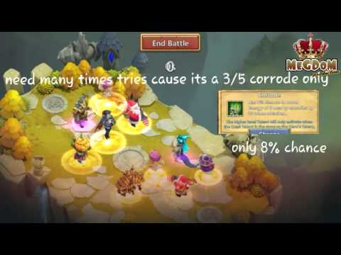 Castle Clash #003How To Beat 5/5 Revitalize Aries