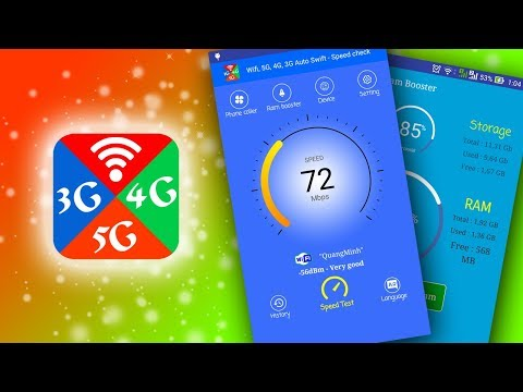 Wifi, 5G, 4G, 3G Auto Swift - Speed check - Apps on Google Play