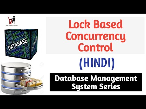 Concurrency Control  - Lock Based Protocol in DBMS Transaction | DBMS lectures for Beginners