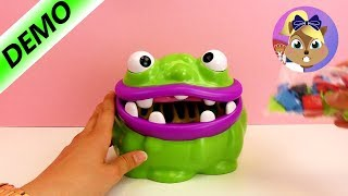 Glubschie Glibber - čudovište jede stvari u sobi!