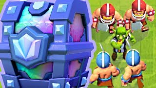 LEGENDARY CHEST QUEST in FOOTBALL! - Clash Royale