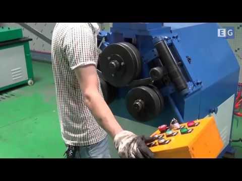 Ручной станок для формовки фланцев для воздуховода
