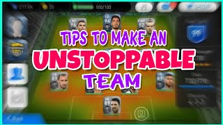 10 SUPER TIPS to build an UNSTOPPABLE🔥 team in PES 2019 | Pes 2019 tips and tricks
