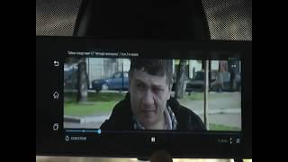 видеорегистратор  A800 - android зеркало в работе