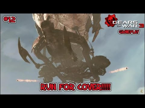 TAKE COVER!!!! [Gears of War 3 #12]