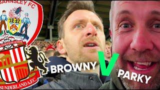 Barnsley V Sunderland (Browny v Parky)| Undr The Cosh | On The Road