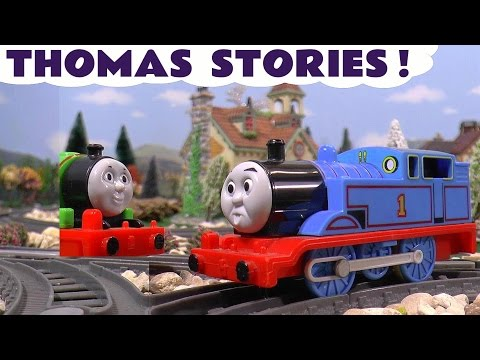 Thomas and Friends Toy Trains Stories of Accidents Disney Cars Toys McQueen compilation ToyTrains4u