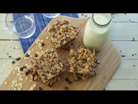 How To Make No Bake Chocolate Oat Bars | Dessert Recipes | Allrecipes.com