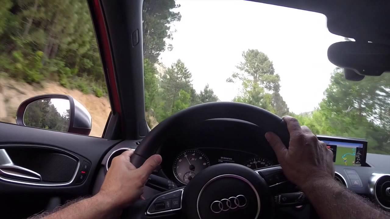Audi S1 et A3 Cabriolet - Corse Mai 2014