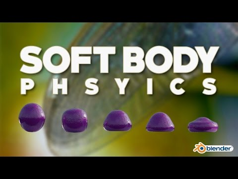 Simple and Fun Soft Body Physics in Blender!