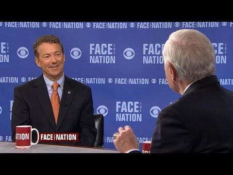 "Rand Paul discusses his ""libertarian-ish"" positions"