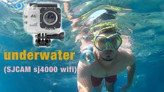 sjcam underwater video - sj4000 wifi
