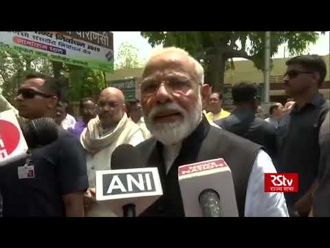 PM Modi urges people to come out and vote after filing nomination from Varanasi