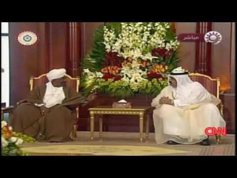 Omar al-Bashir in Doha