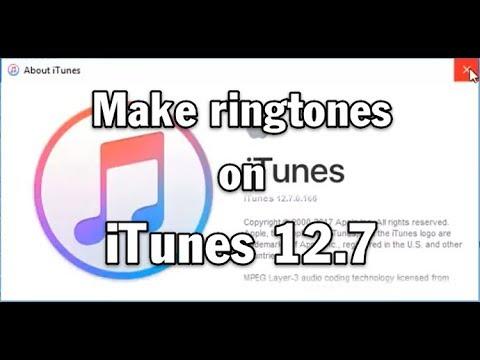 make a ringtone on itunes 12