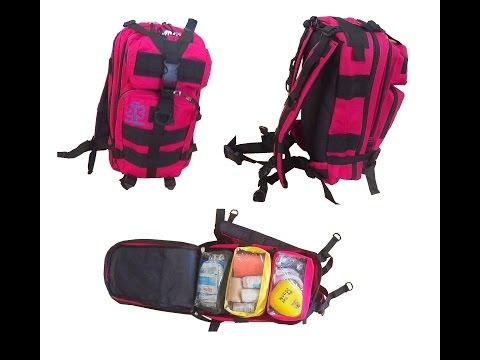 FFASMEDIC First Aid Backpack (FABP-R) Trauma Bag Malaysia