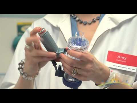 How To: Use a Spacer/Chamber with your Asthma Inhaler