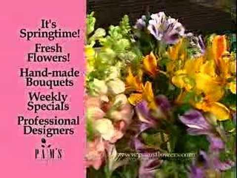 Pams Flower Garden Spring Commercial