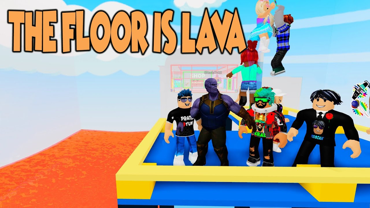 🔥 EKİP LAVLARDA YÜZÜYOR !!! 🔥 / NEW THE FLOOR IS LAVA / ROBLOX TÜRKÇE