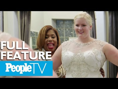 Curvy Bride Must Choose Between Mother's Wedding Dress & Royal Gown  The Perfect Fit  PeopleTV