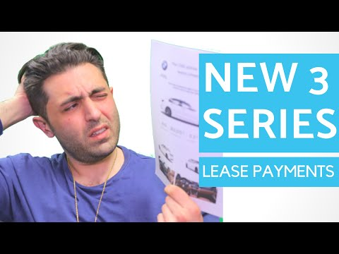 NEW 3 Series Lease Deals - BRACE YOURSELF!