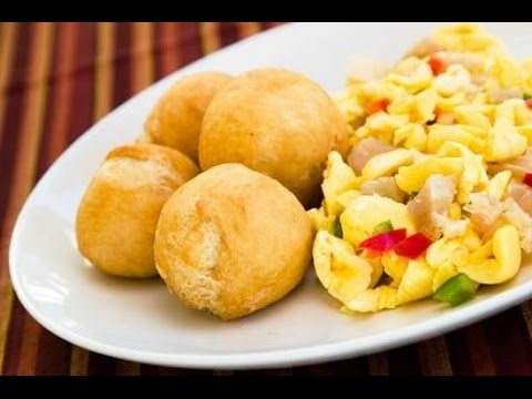 Classic Jamaican ACKEE And SALTFISH Yardie Style