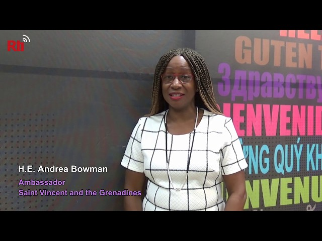 Interview with H.E. Andrea Bowman, Ambassador of Saint Vincent and the Grenadines 【央廣英語】