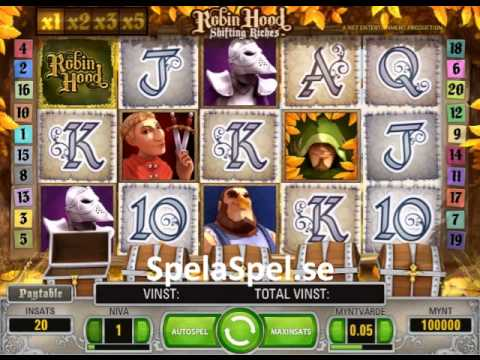 robin hood - shifting riches casino