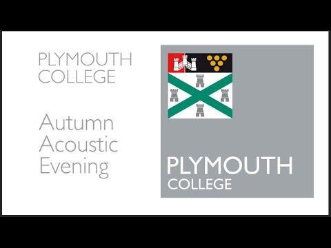 Plymouth College Autumn Acoustic Evening 2016