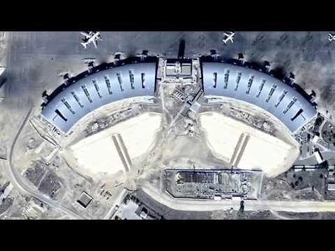 NEW PROJETS IN ALGERIA.  Senia new airport, ORAN.
