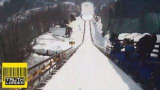 World record ski jump caught on headcam - Truthloader