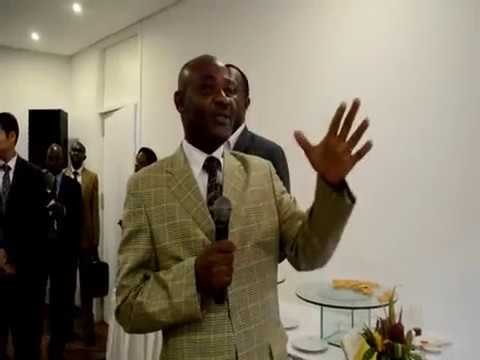 Cérémonie de Signature - Noha Nyamedjo & Transmar - Cameroun