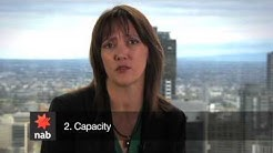 The three C's of credit as seen on Kochie's Business Builders (Channel 7)
