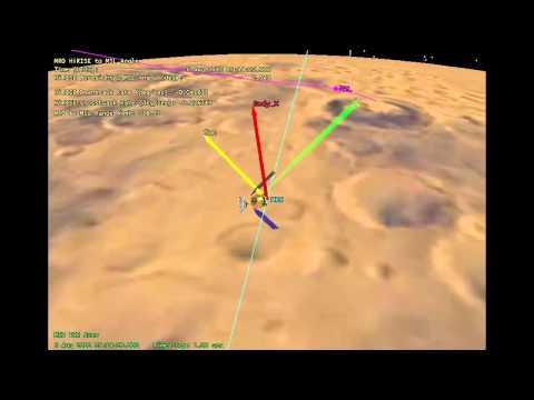 Tracking the Curiosity Rover Using the Mars Reconnaissance Orbiter | NASA JPL MRO HD Video