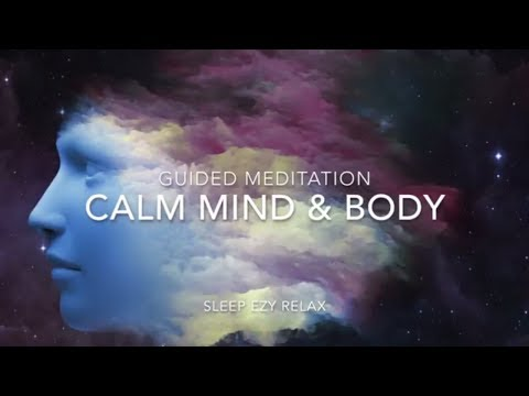 Remove Anxiety  ➤ Guided Visualization - Calming Mind and Body Relaxation with Alpha Waves