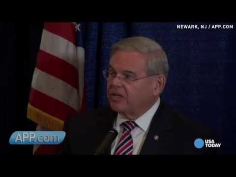 Sen. Robert Menendez vows to fight corruption charges