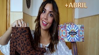 HAUL MARZO+ABRIL 2016!! Zara, Pull and Bear, H&M & más | State Beauty