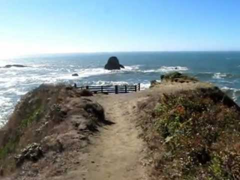 Trail to amazing ocean view  Humboldt County, CA