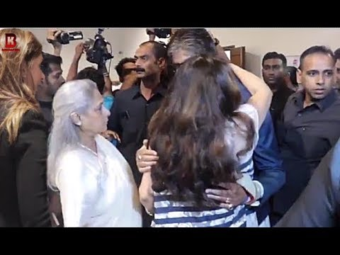 Amitabh Bachchan Embraced Tina Ambani In Front Of Wife Jaya Bachchan At Shweta Bachchan Launch Book