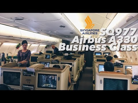 Singapore Airlines Airbus A330-343 Business Class Experience & BKK Lounge Review