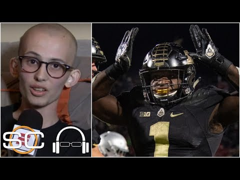 Purdue superfan Tyler Trent joins SVP to talk Ohio State win, Stuart Scott's influence | SC with SVP