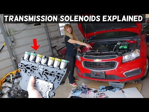 CHEVROLET CRUZE SONIC TRANSMISSION SOLENOID ORDER 1ST 2ND 3RD 4TH 5TH 6TH GEAR