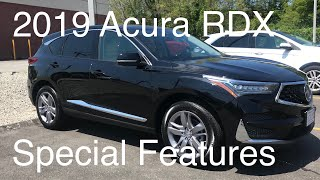 2019 Acura RDX Advance Review of Features