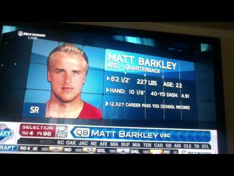 Eagles Draft Matt Barkley