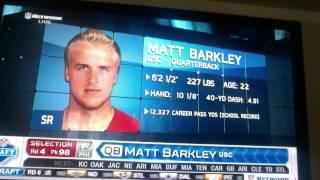 Eagles Draft Matt Barkley