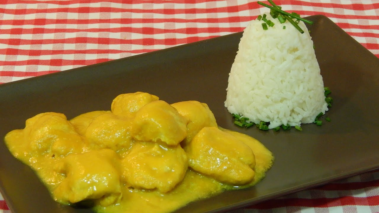 C mo hacer pollo al curry receta f cil youtube - Como hacer espaguetis al pesto ...
