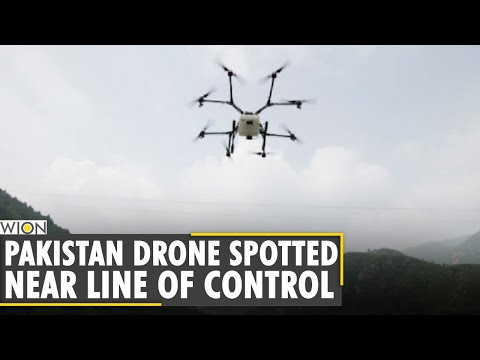 Pakistan drone spotted flying near Poonch's Mendhar sector |